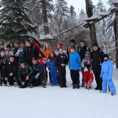 2015.02. - Sortie Ski de Fond CDCK18 - Le Mont Dore