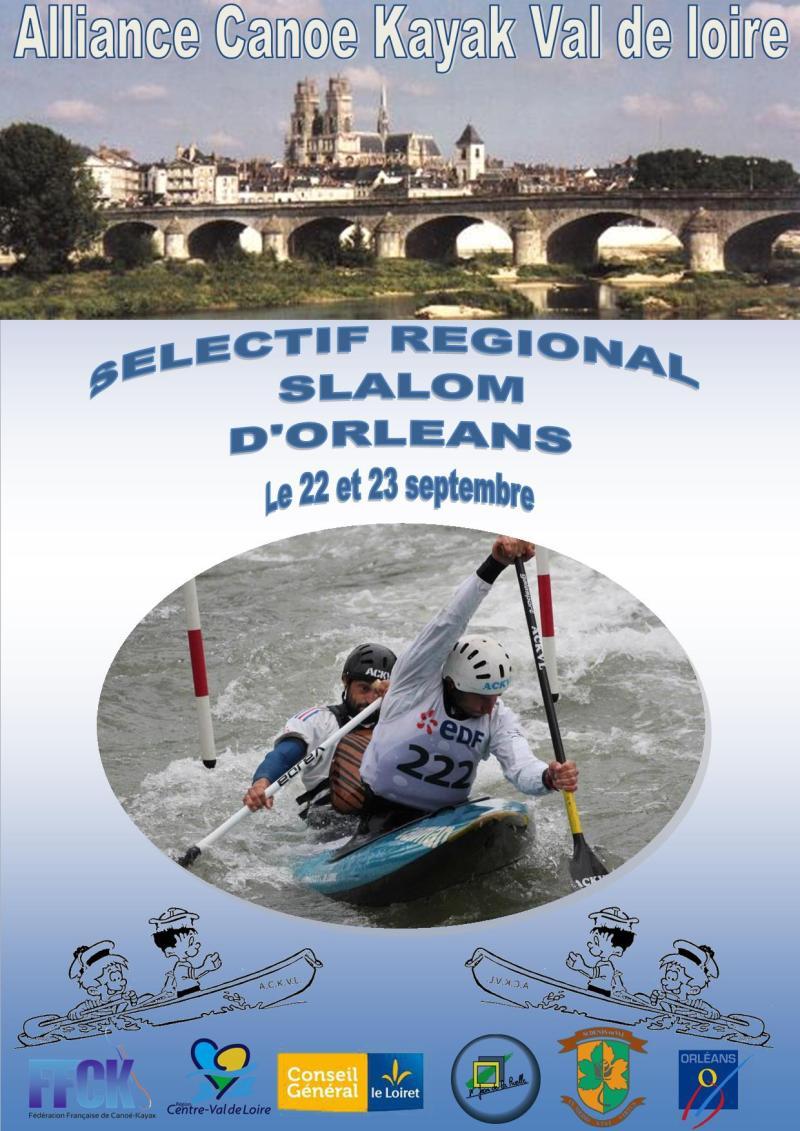 2018.09.22 et 23 - Sél. Rég. Slalom - Orléans