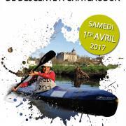 2017.04.01 - Affiche Ch. Rég. de Descente & Manche Jeune CRJP - Chateaudun