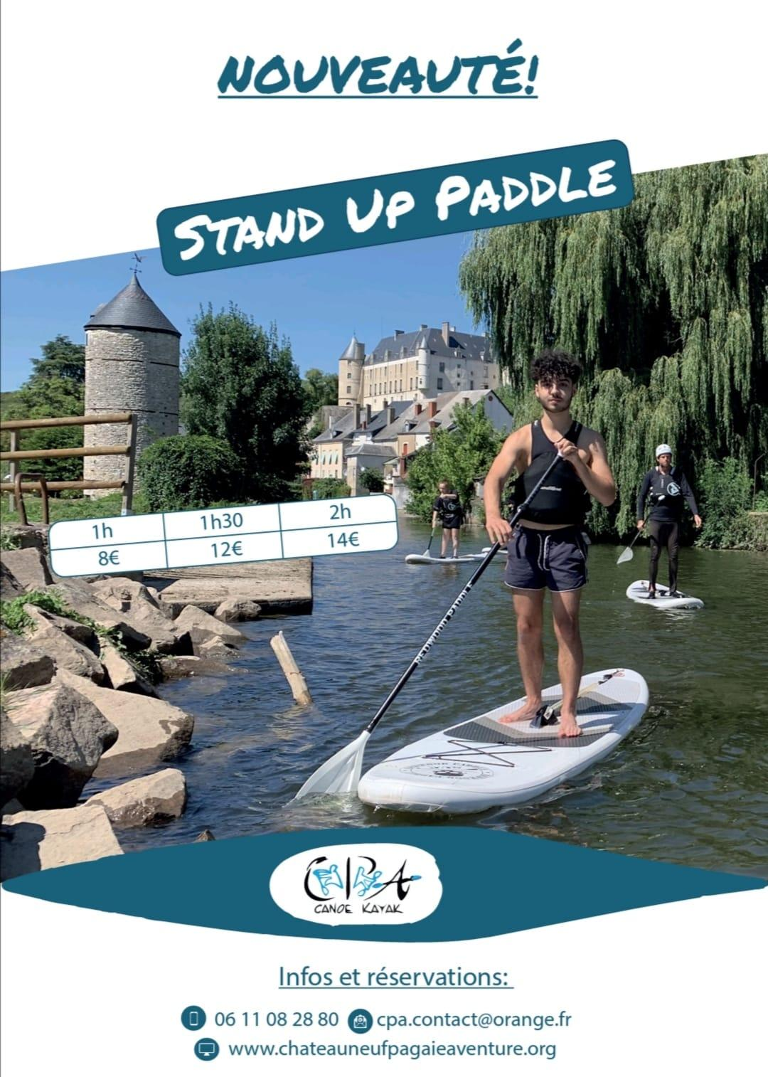Affiche paddle